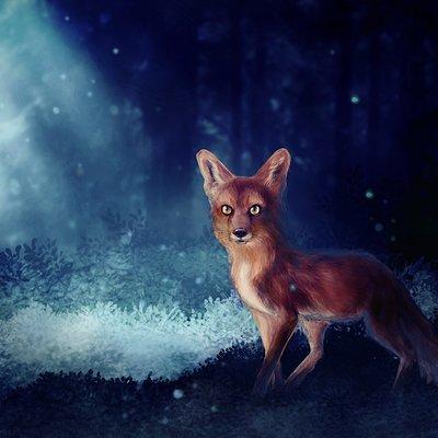 Angelica zurawski fox by endziz
