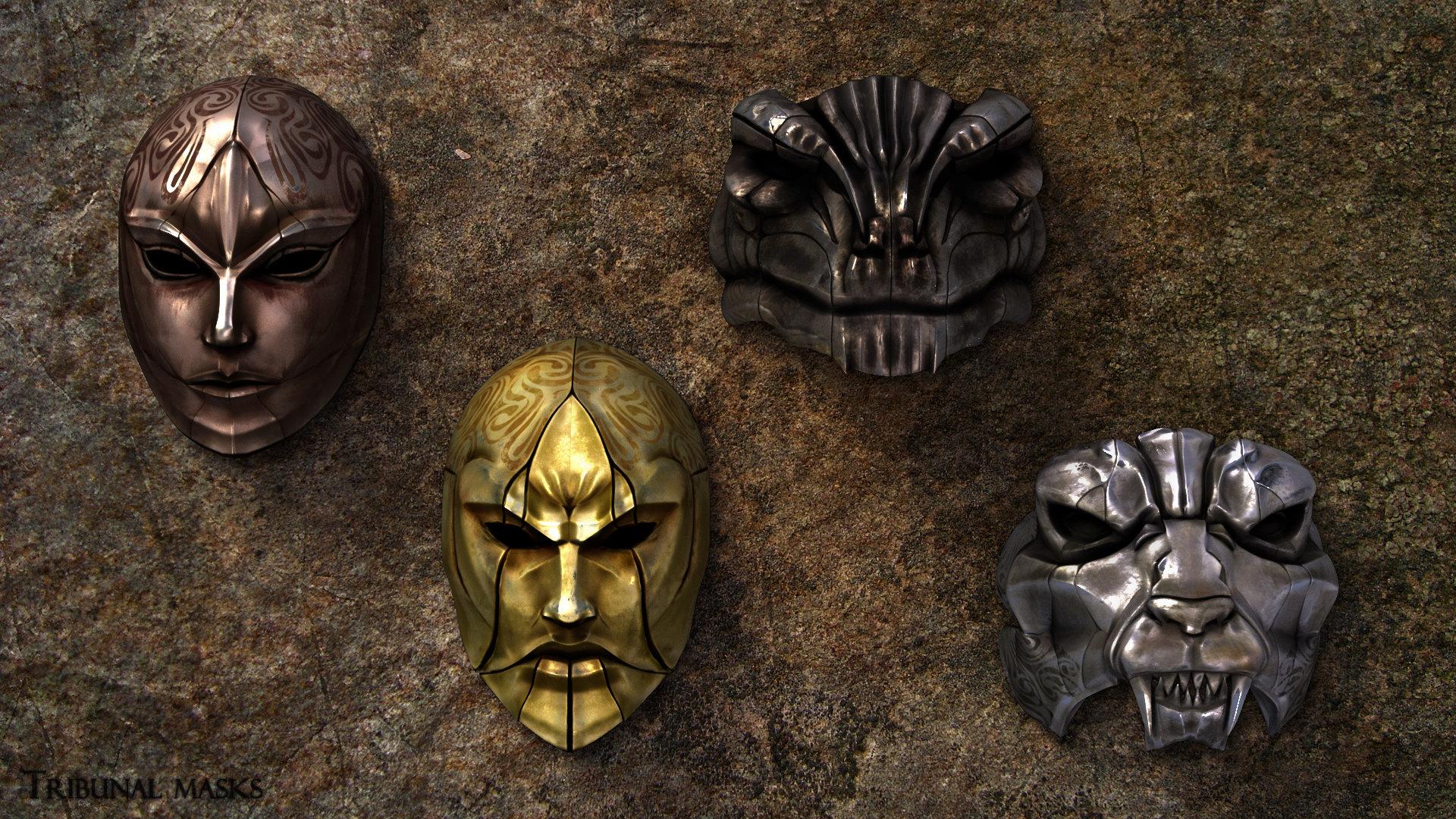 Thomas veyrat 020 tom tribunal masks