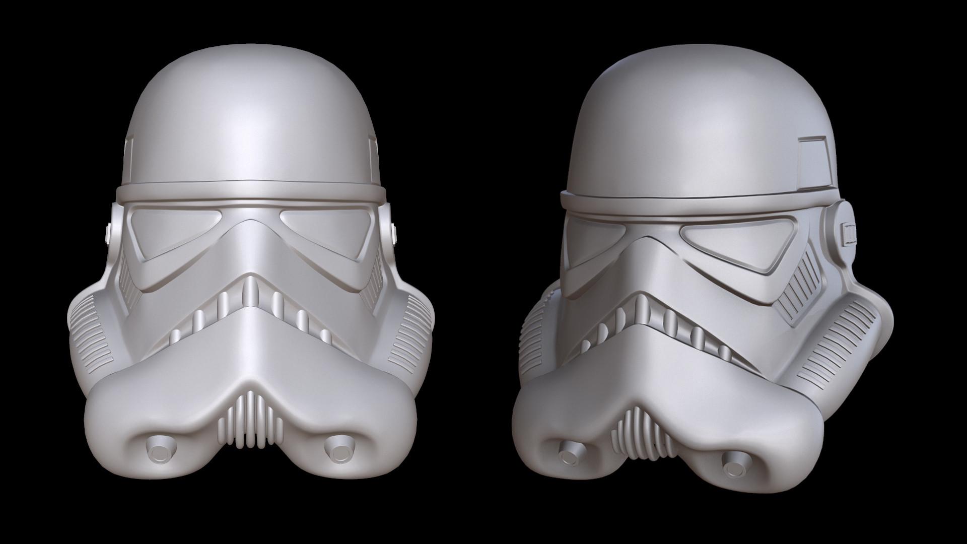 Stormtrooper Helmet - Hardsurface