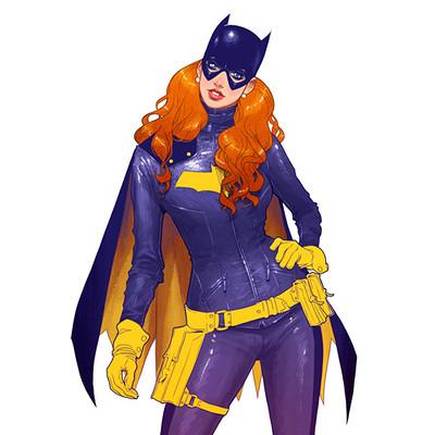 Alfonso pardo martinez batgirl redesign by pardoart d7qmqja