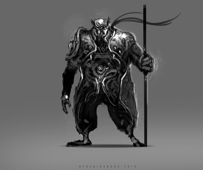 Benedick bana final warrior guardian monkey2 lores