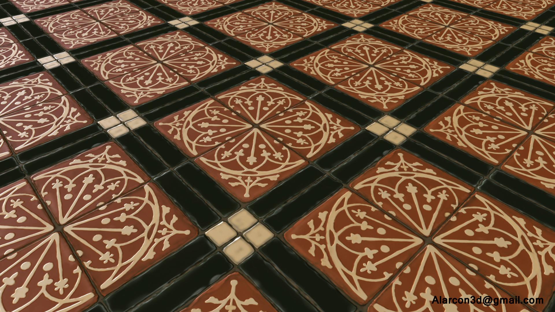David alarcon motif tile