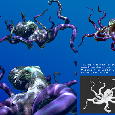 Eric keller octopus renders
