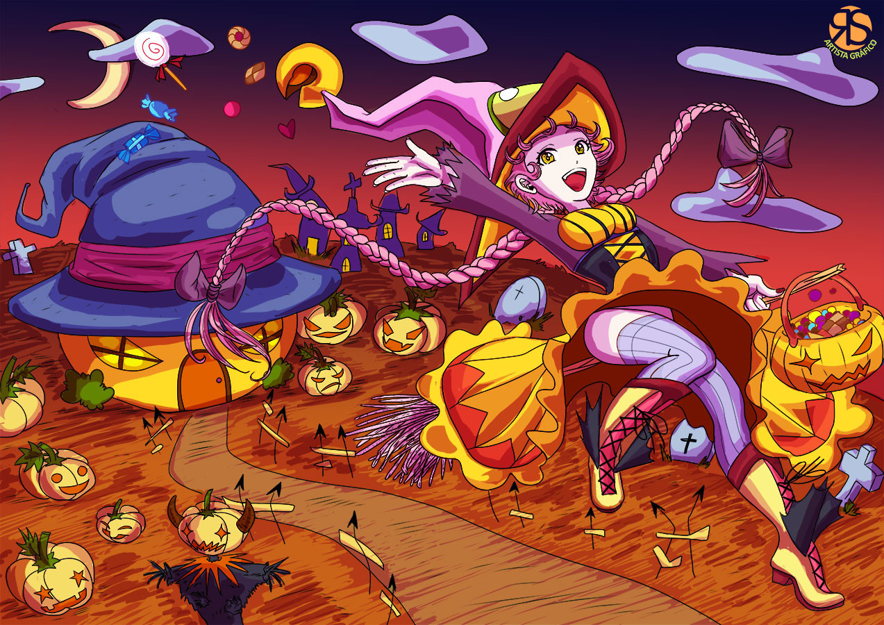 Sira artist graphic halloween by sira artista grafico