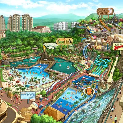 Kinsun loh sunway lagoon map