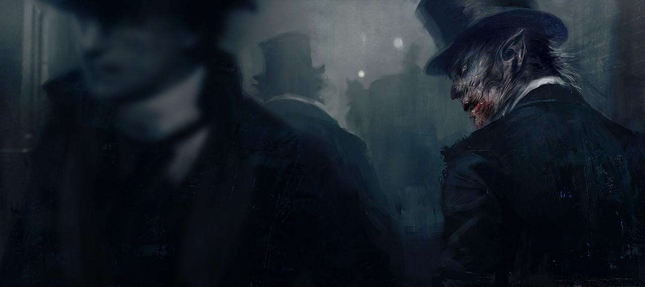 Morgan yon vampyre