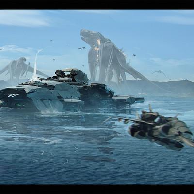 Brad wright battleship monster attack