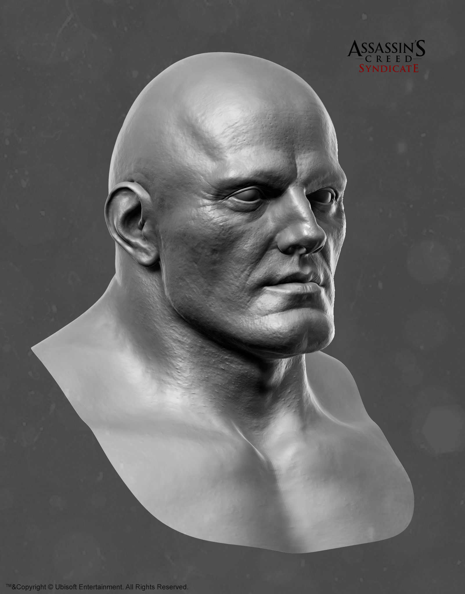 Mathieu goulet zbrush head brute 34