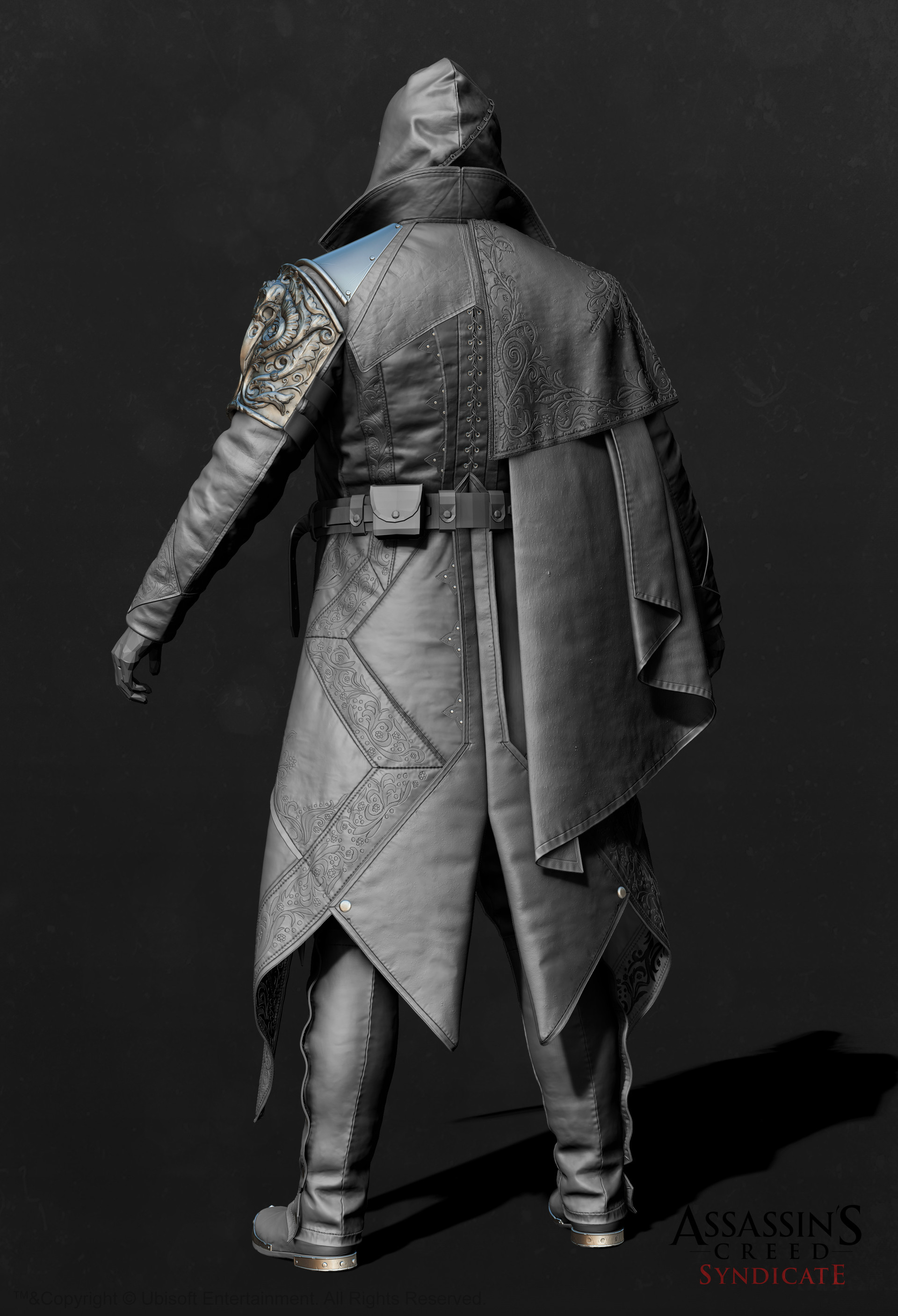 Mathieu goulet zbrush body outfit07 back