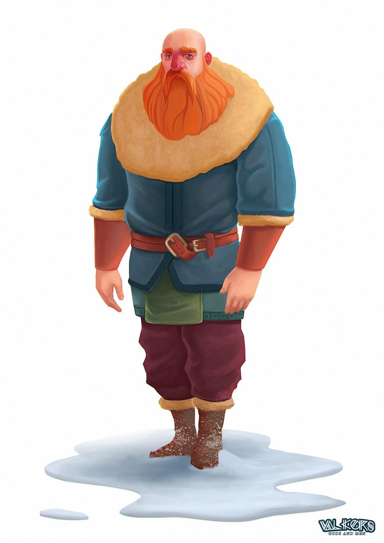 Josh merrick viking 1 color2