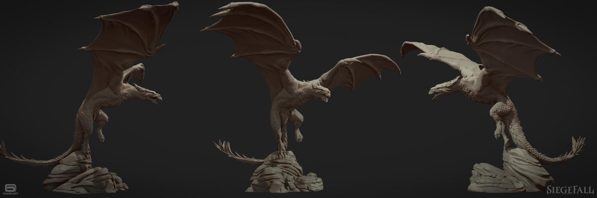Alexandre proulx audy sculpt posed