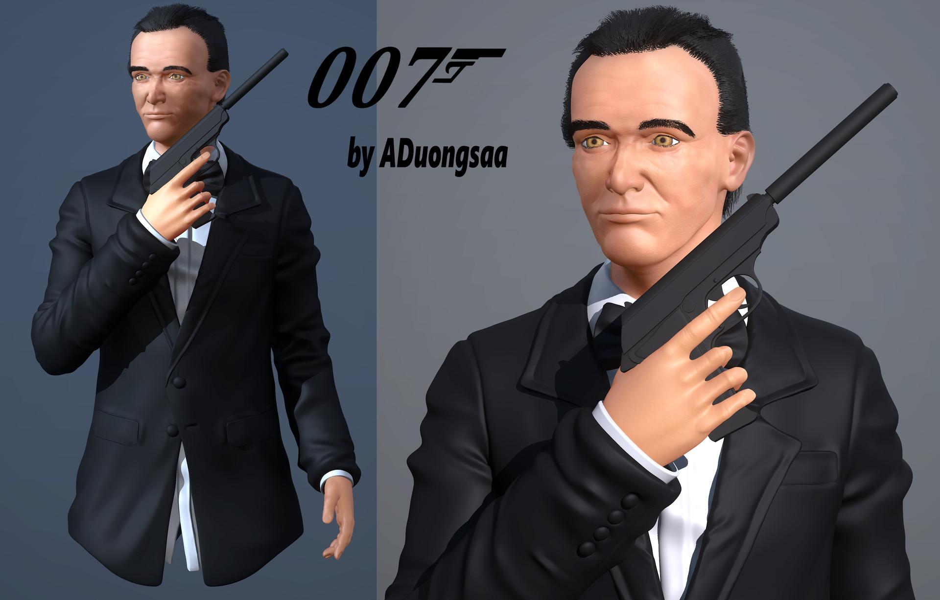 Assani duongsaa render 007 beauty
