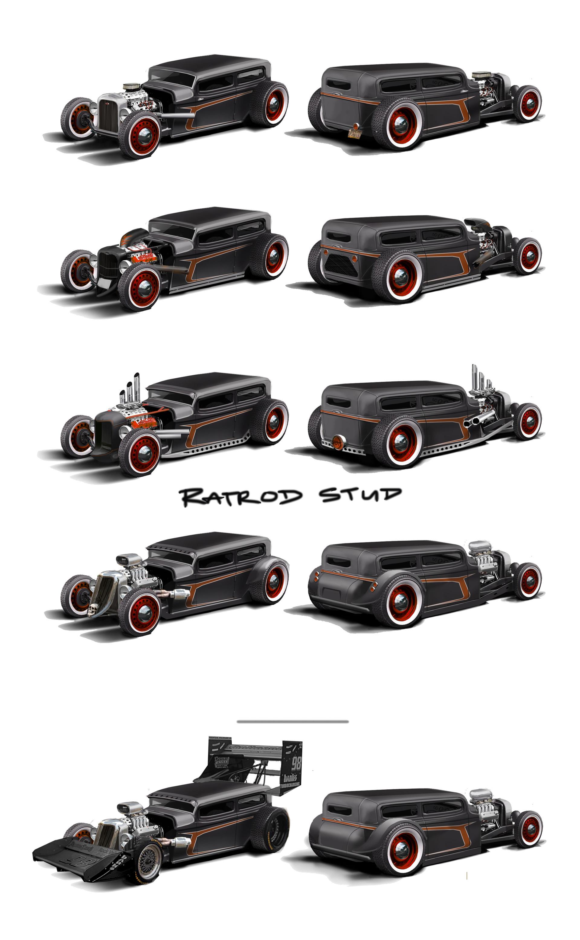 Alex brady ratrod kits 7