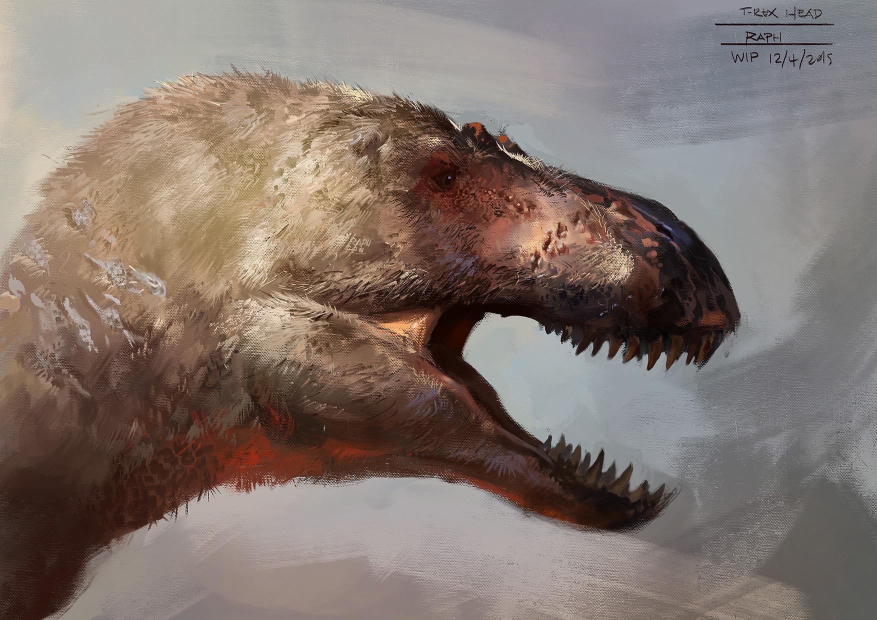 Raph lomotan t rex head