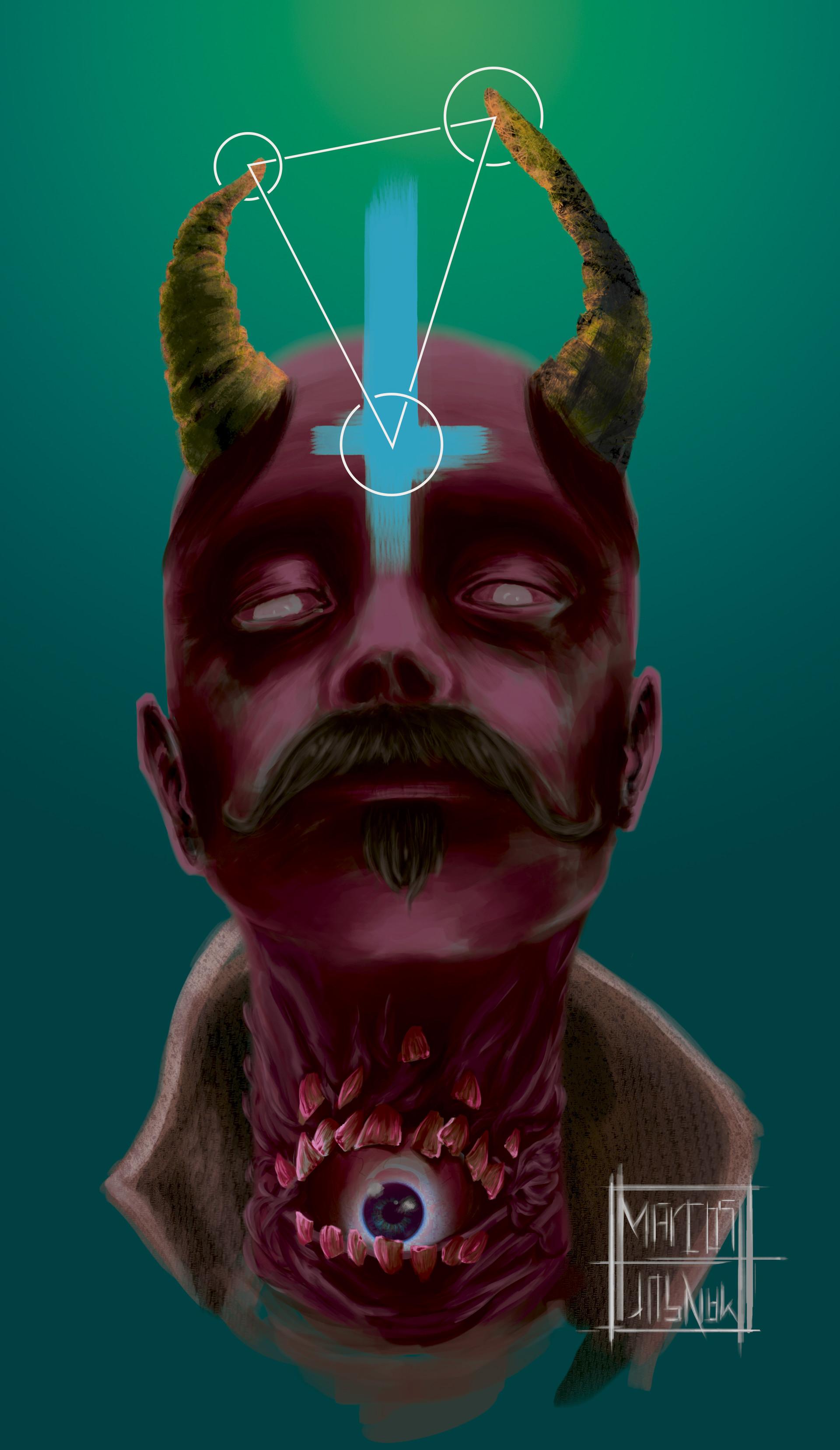 Marcos mansur devil cmyk colored