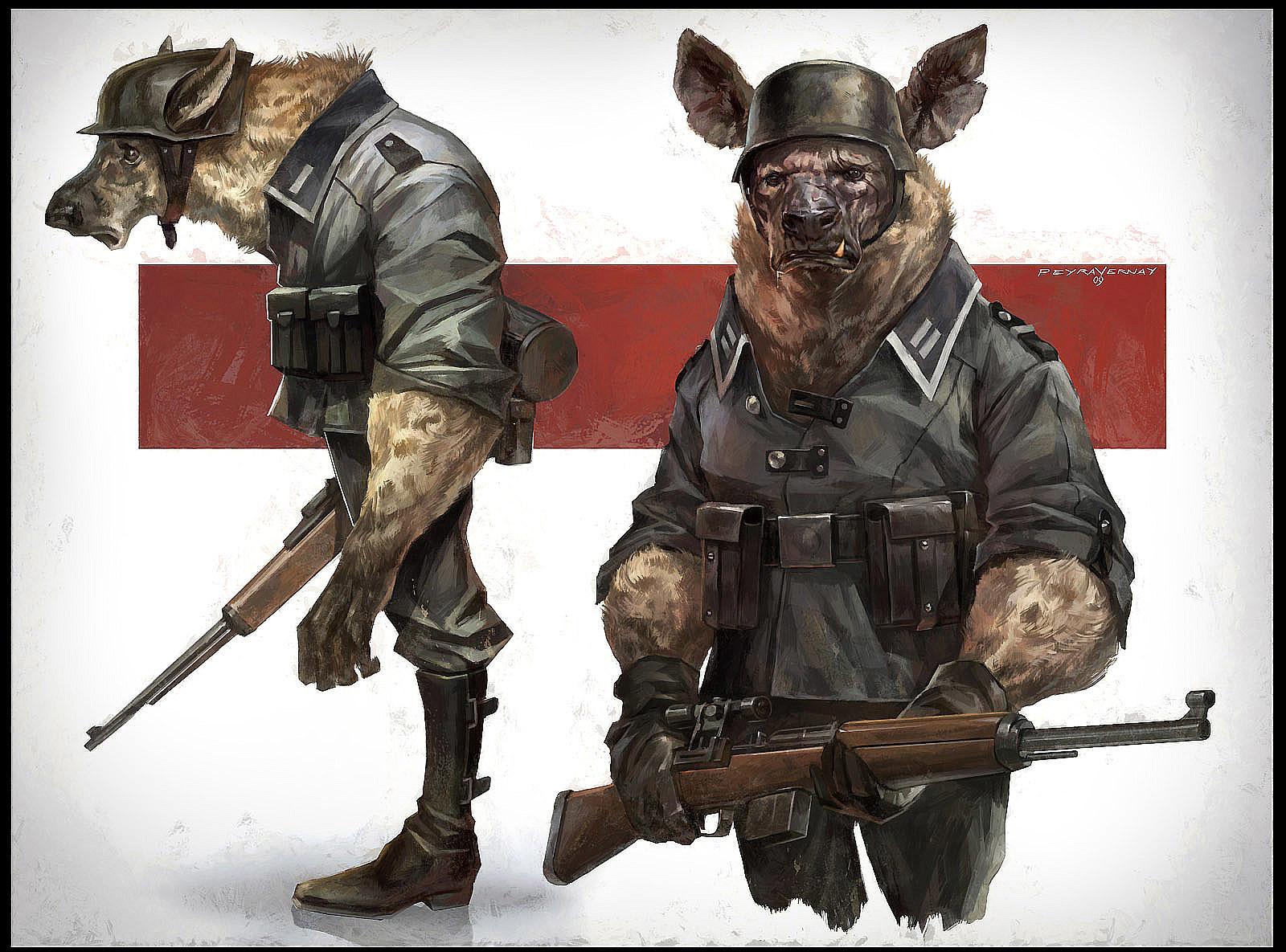 Cedric peyravernay hyena