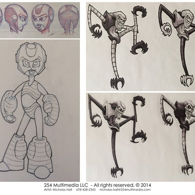 Nicholas hall 254mm nhalls artwork character ideas