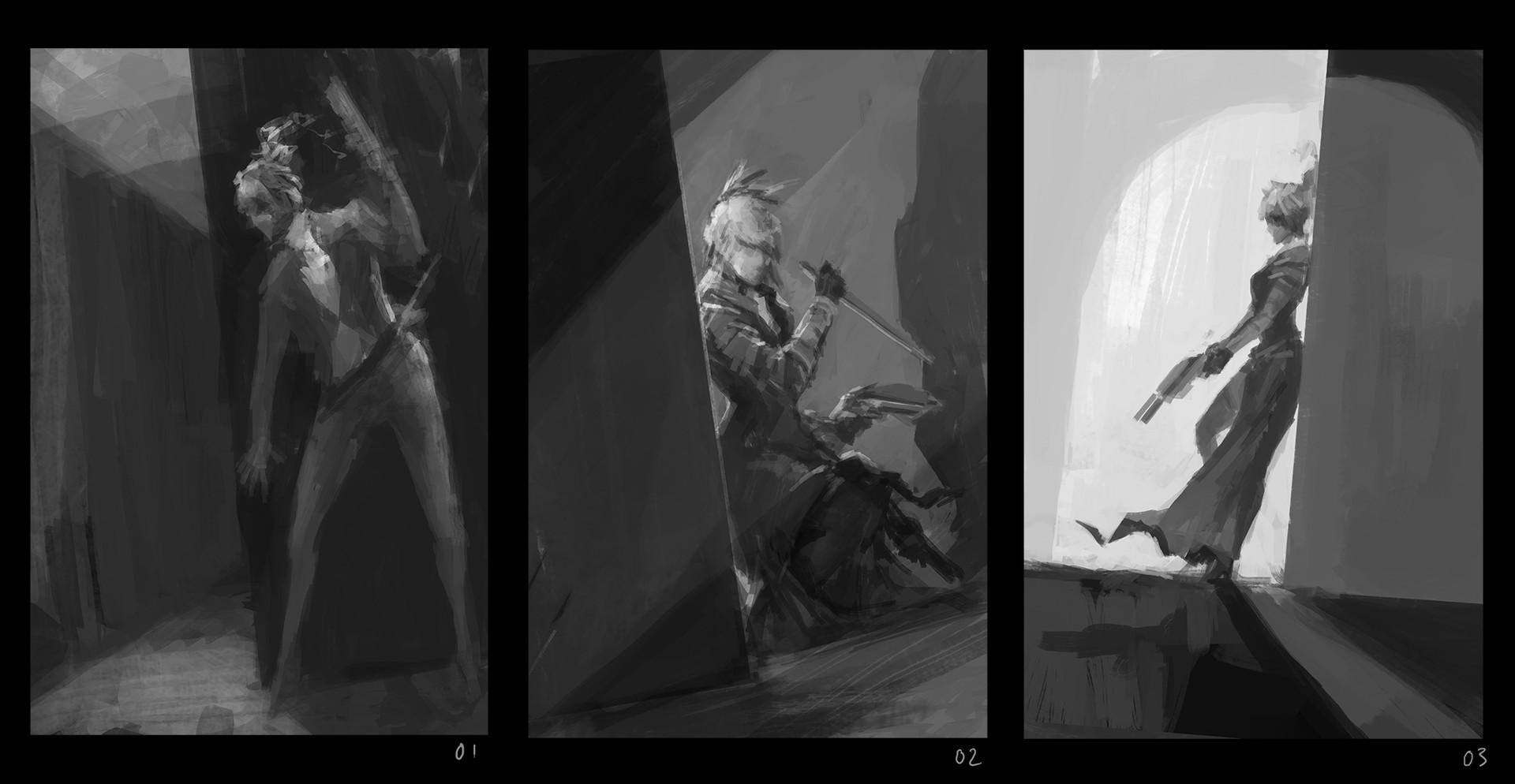 Alexandre chaudret dos shade 01 sketches