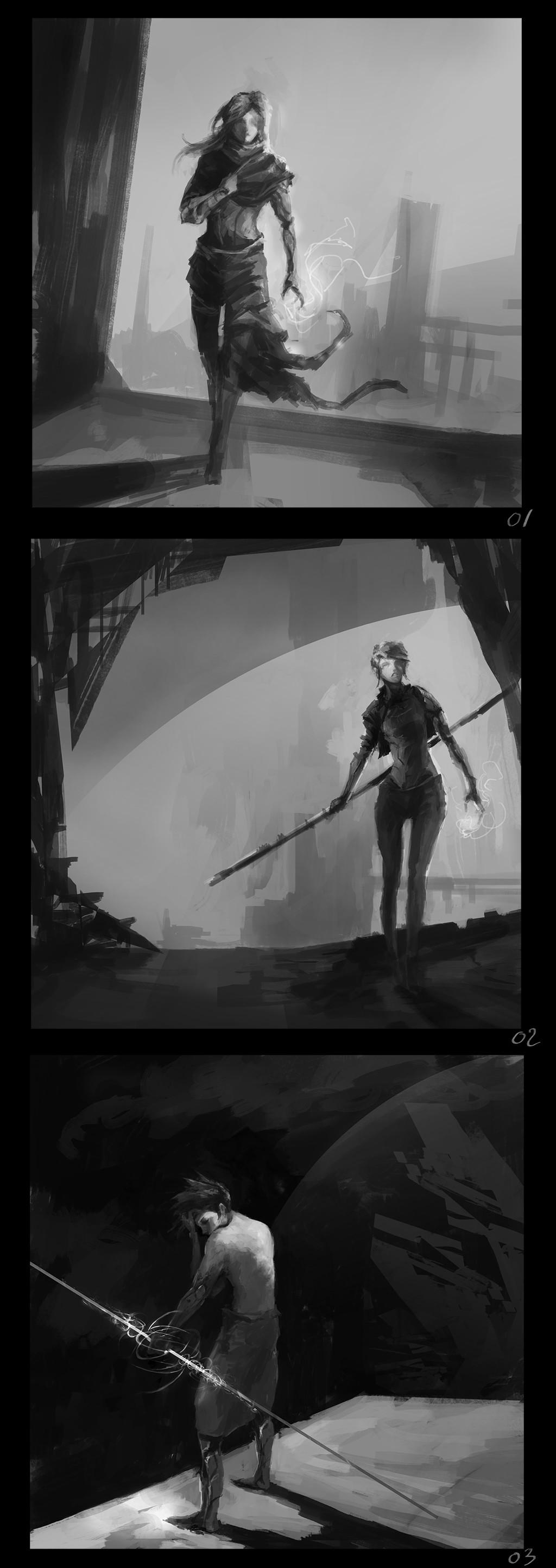 Alexandre chaudret dos aspect 01 sketches