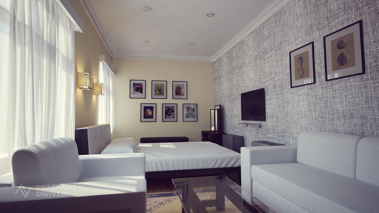 Prashant dwivedi small bedroom image 1