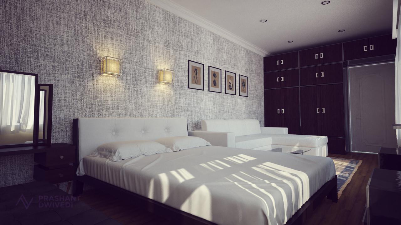Prashant dwivedi small bedroom image 4