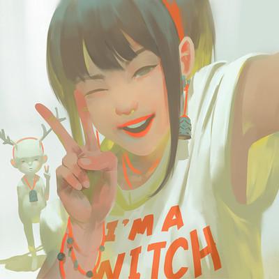 Zeen chin selfie