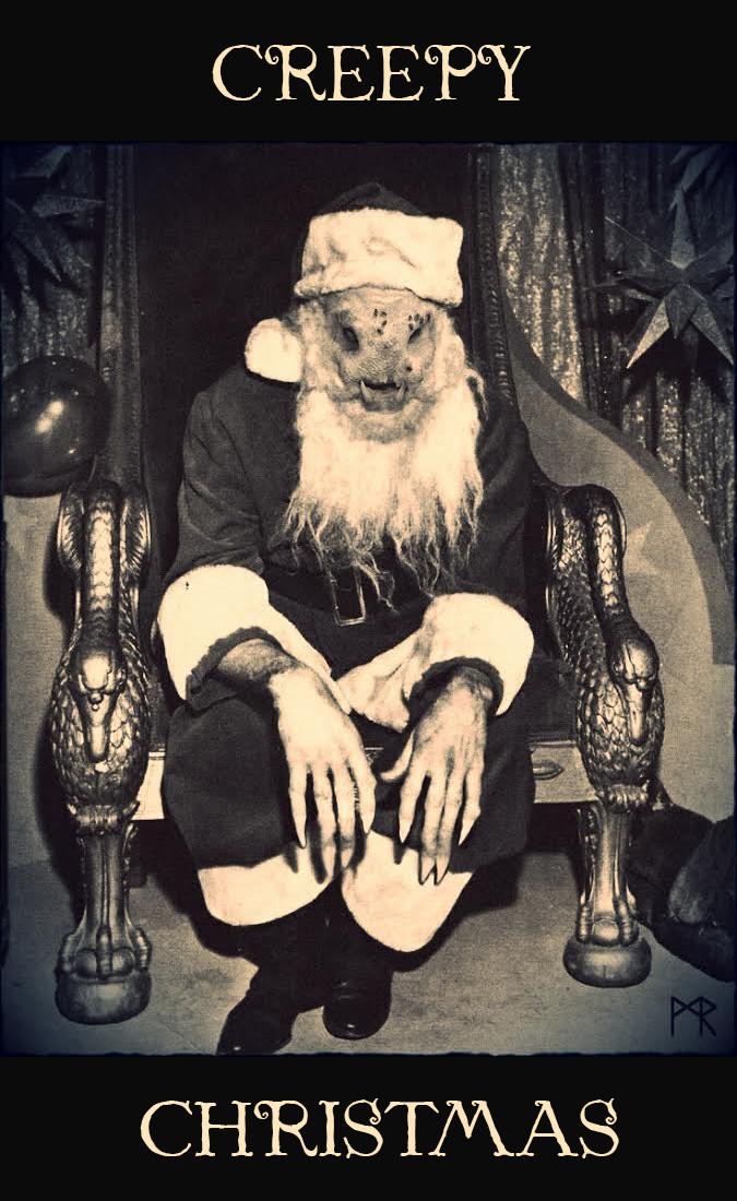 Mathieu roszak creepy christmas