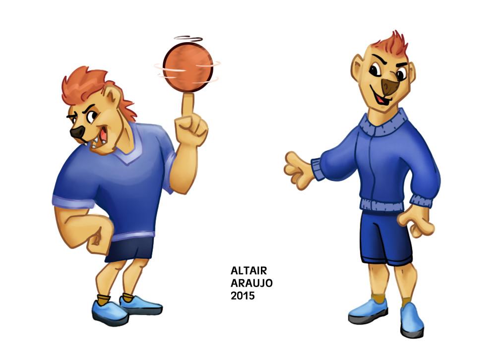Altair araujo sporty lion