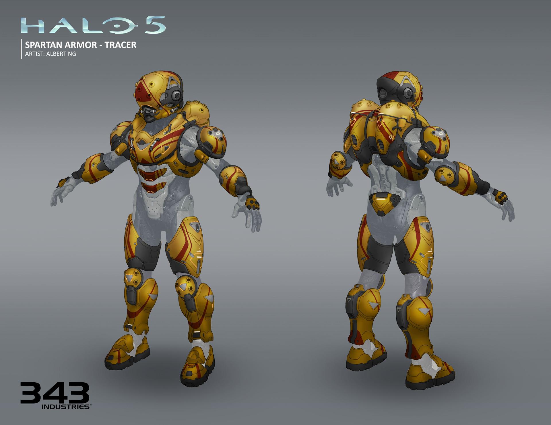 Albert Ng Halo 5 Armors