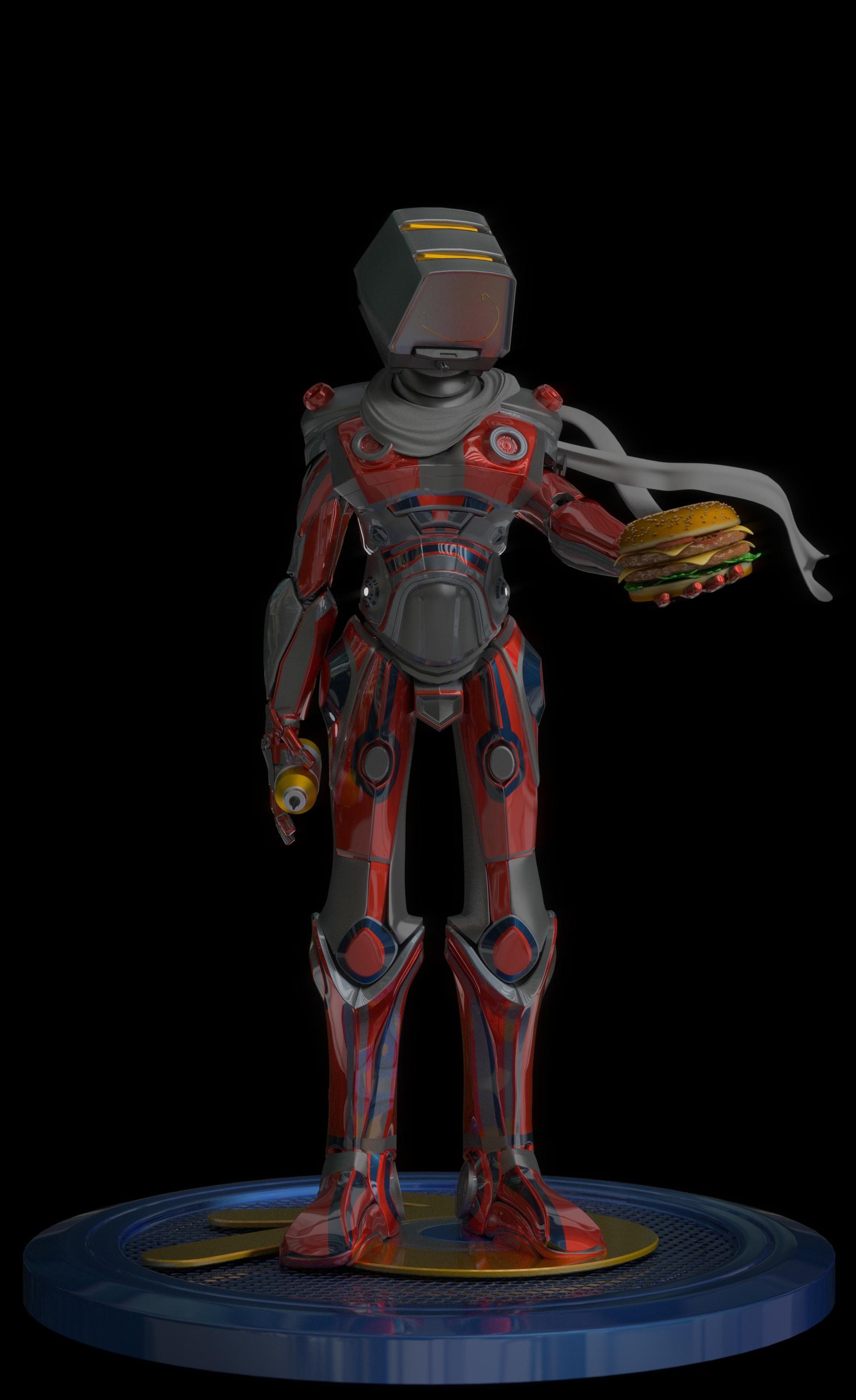 Jerry perkins mx1001 burgerbot2