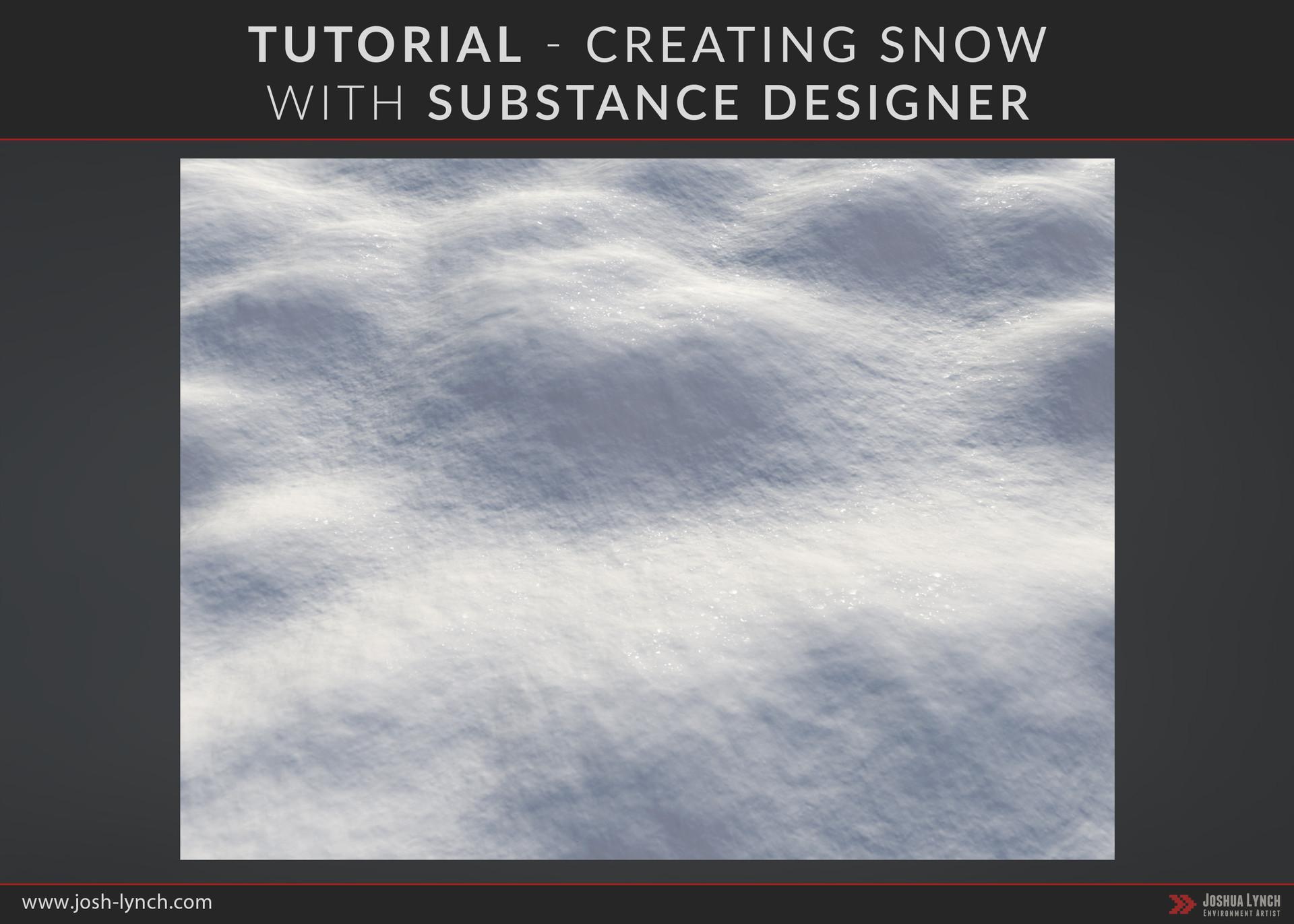 Joshua lynch substance designer snow thumbnail page