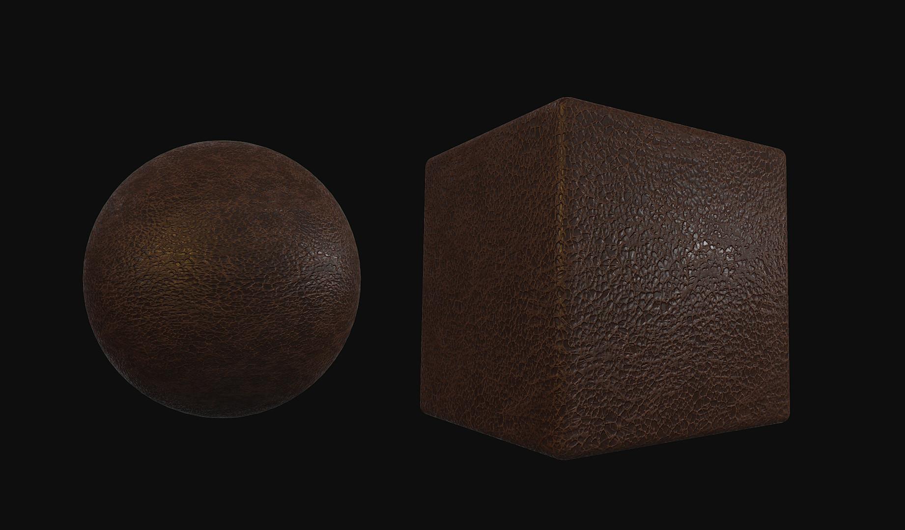 Romain pommier leather 2