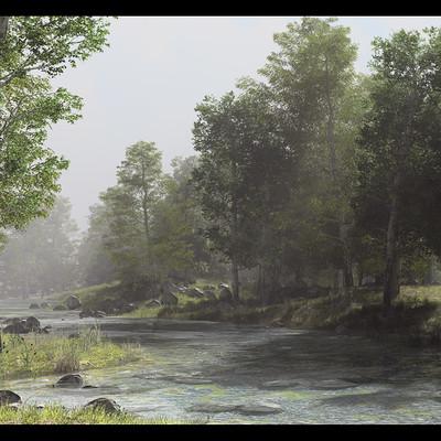 B o w qin forest stream 4k up