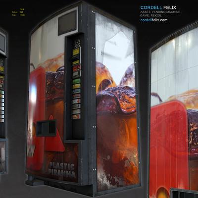 Cordell felix vendingmachine