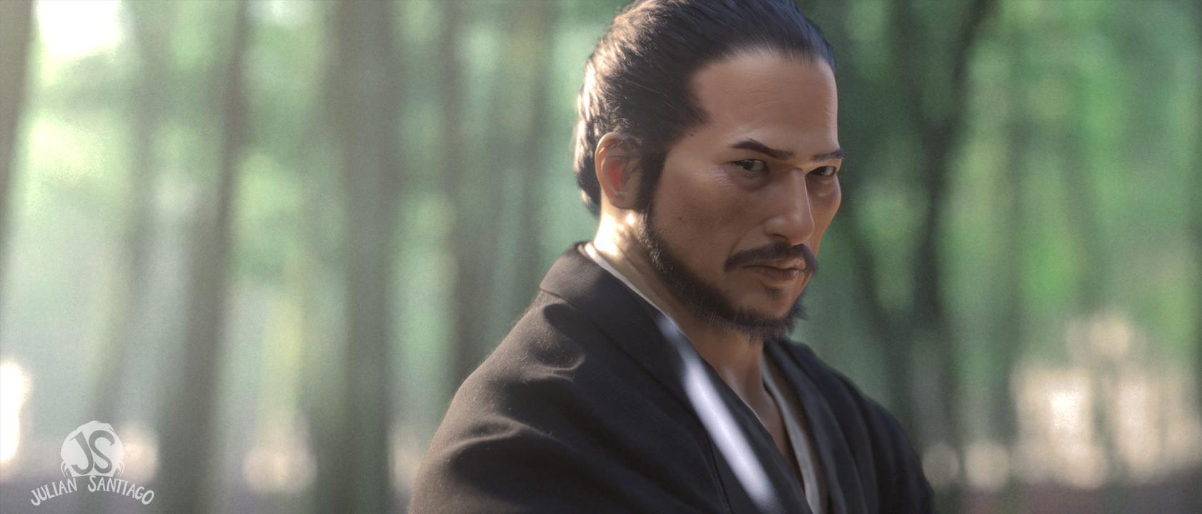 Julian santiago juliansantiago samurai day