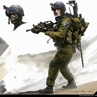 Thomas a szakolczay female isreali soldier tasmediafile