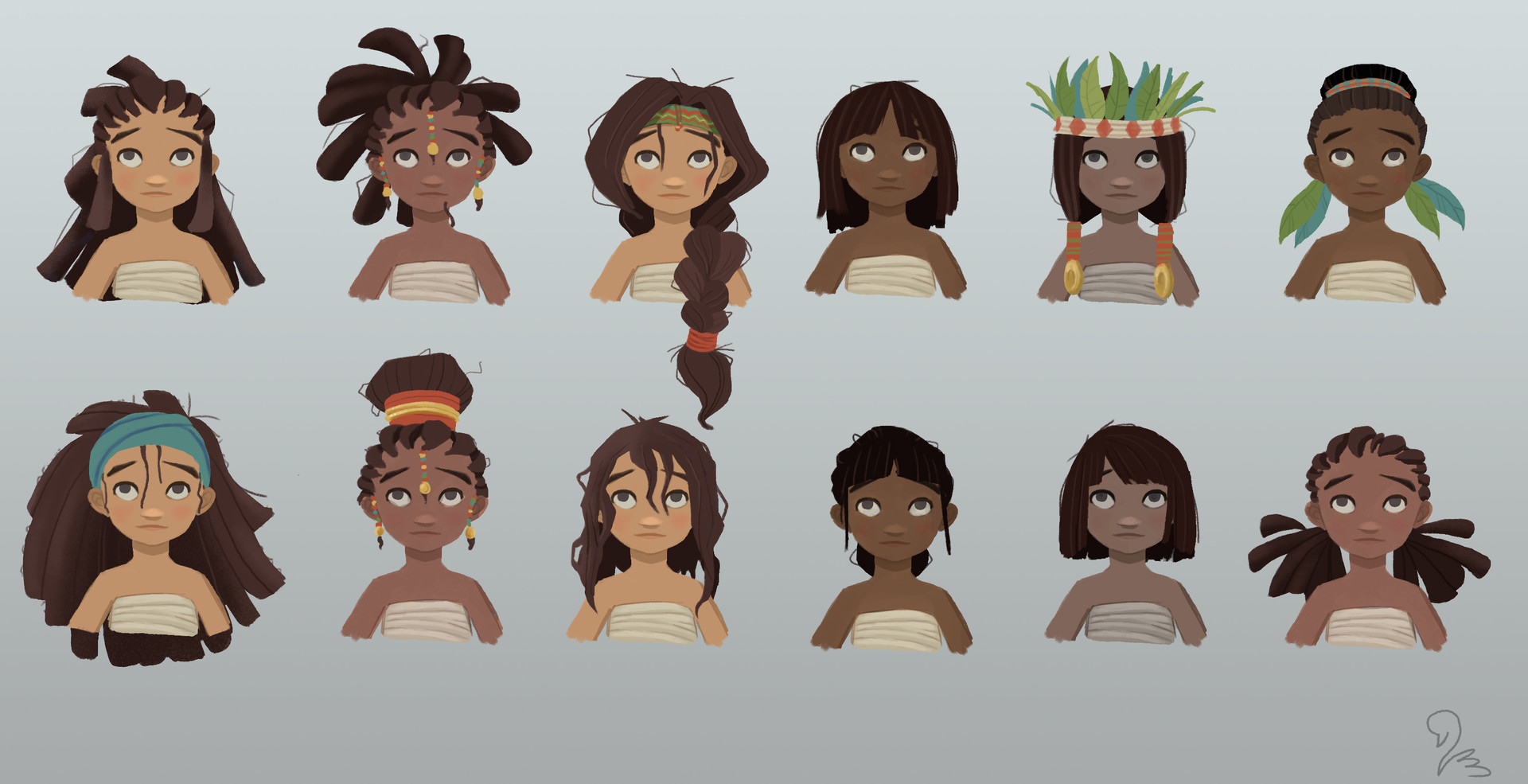Victoria march marchv hair variations