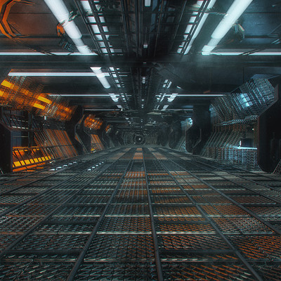 Kresimir jelusic 98 150116 space station corridor
