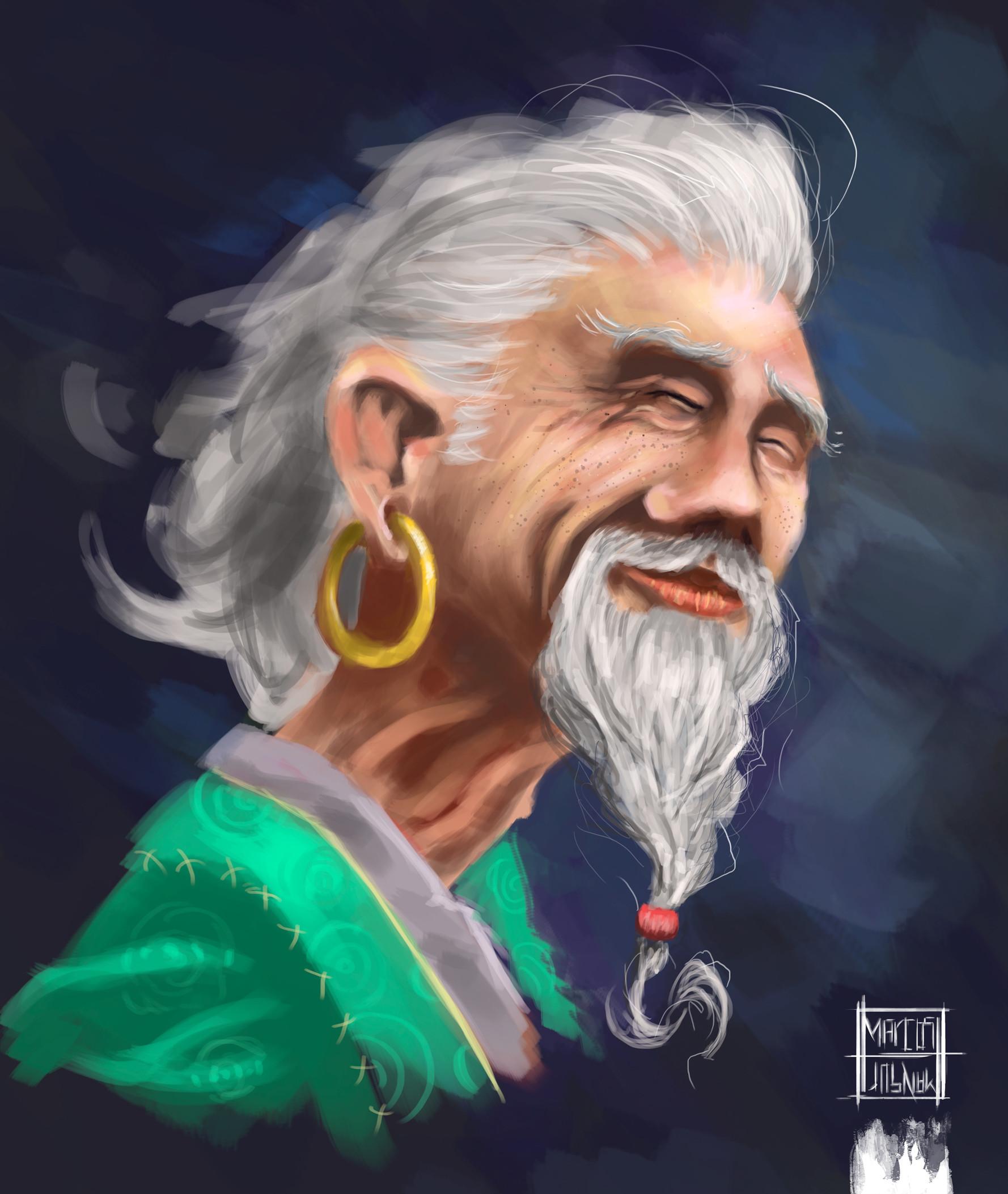 Marcos mansur sir chin