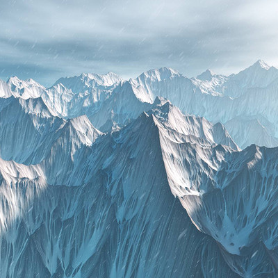 Gabriel nadeau montagne neige