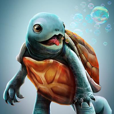 Sergio palomino pokemon project 007 squirtle bylo0bo0