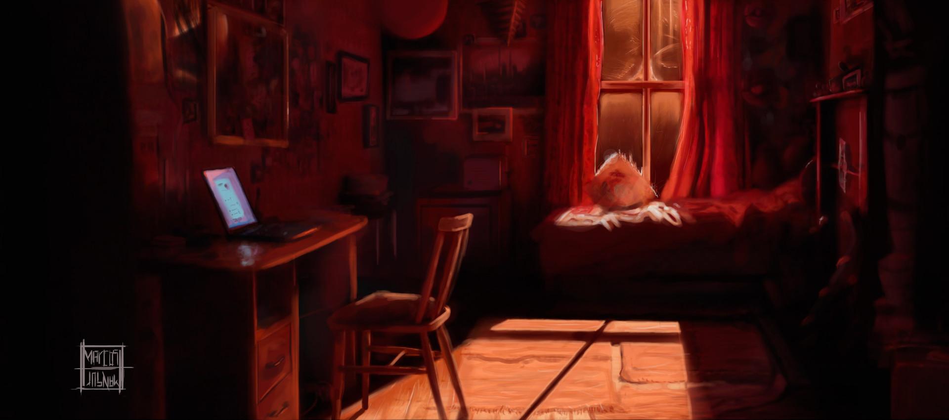 Marcos mansur red room 2