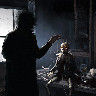 Lorenz hideyoshi ruwwe puppeteer villain3