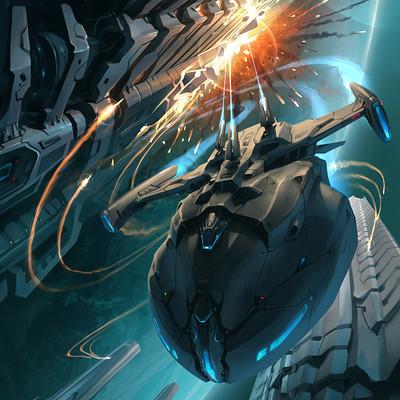 Sviatoslav gerasimchuk sci fi unexpected strike