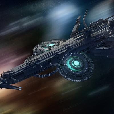 Kresimir jelusic 107 240116 space frigate
