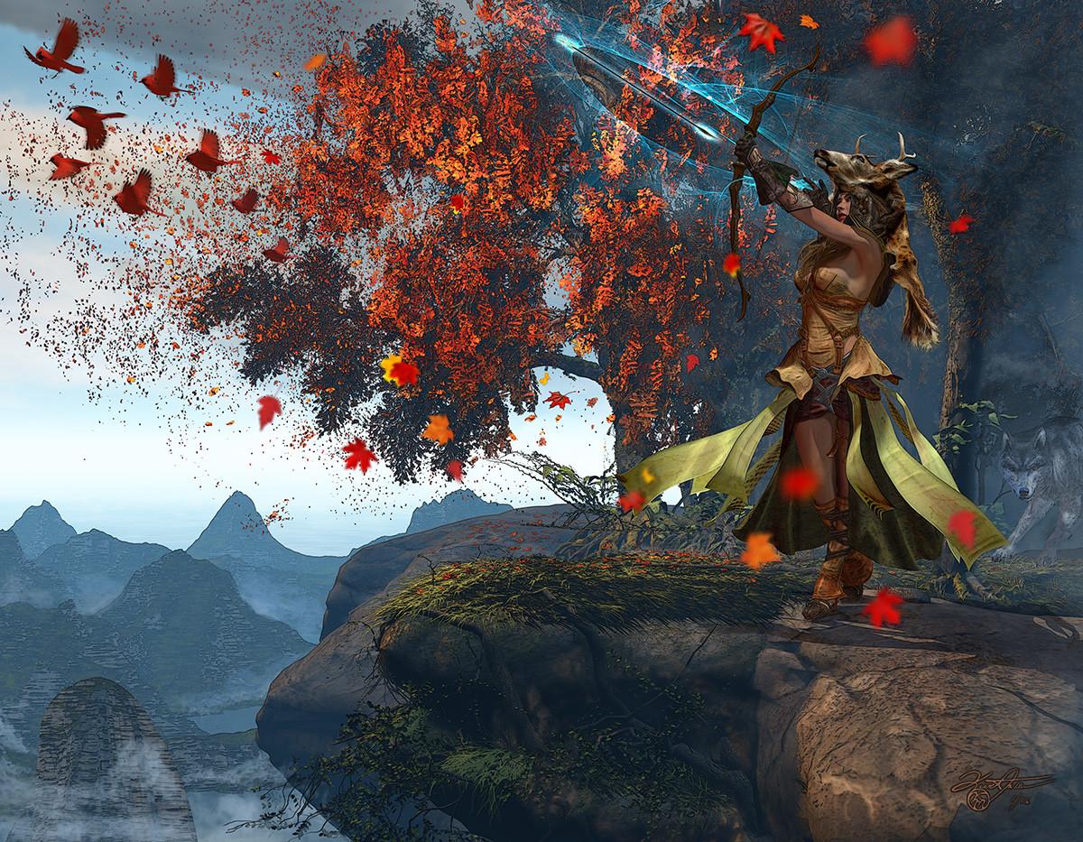 Kurt miller devana goddess of the hunt