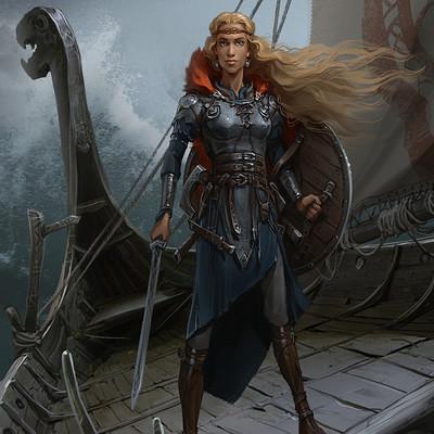 Sviatoslav gerasimchuk viking queen sela