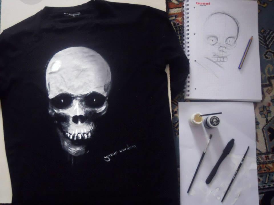 Yasar vurdem t shirt painting from 2013 by vurdem d9afpjx