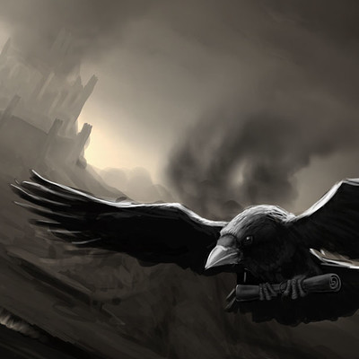 Casey weeks messenger crow color