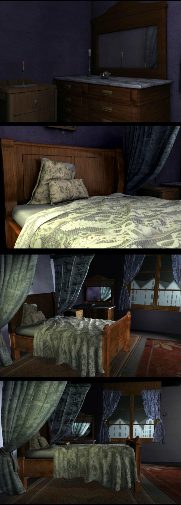 Jin hao villa bedroom xtra renders